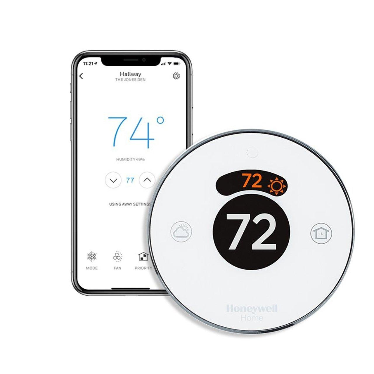 Honeywell Round Smart Thermostat - Second Generation (RCH9310WF)
