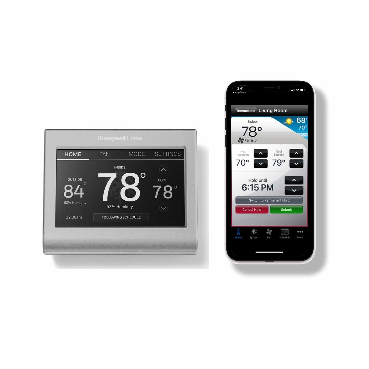 Wi-Fi Smart Color Thermostat
