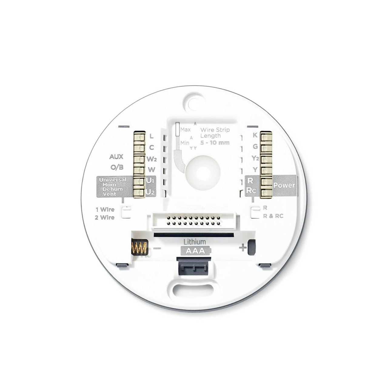 The TH8732WFH5004/U Round Smart Thermostat | Resideo Pro