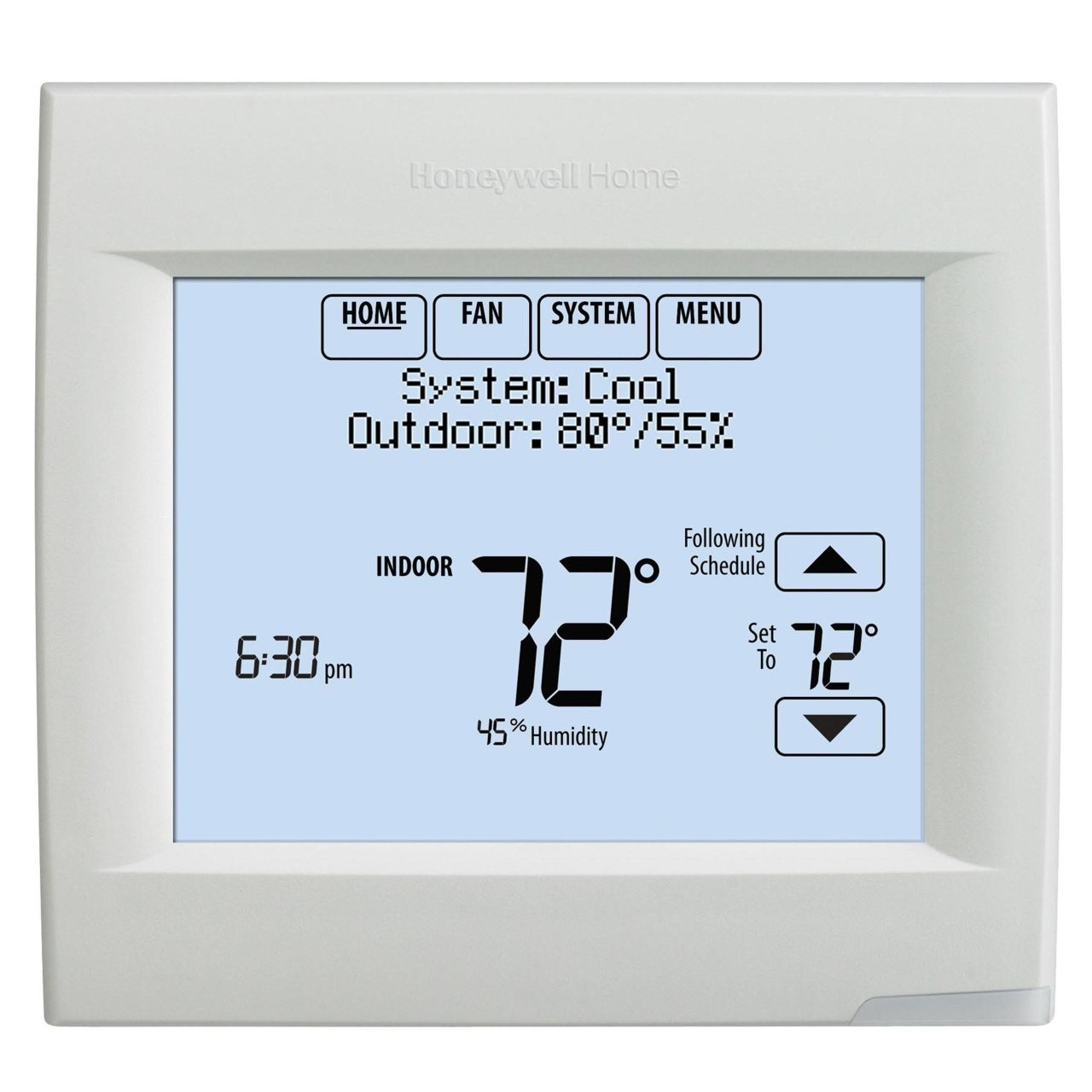 Honeywell Home VisionPRO Wi-Fi 7-Day Programmable Thermostat