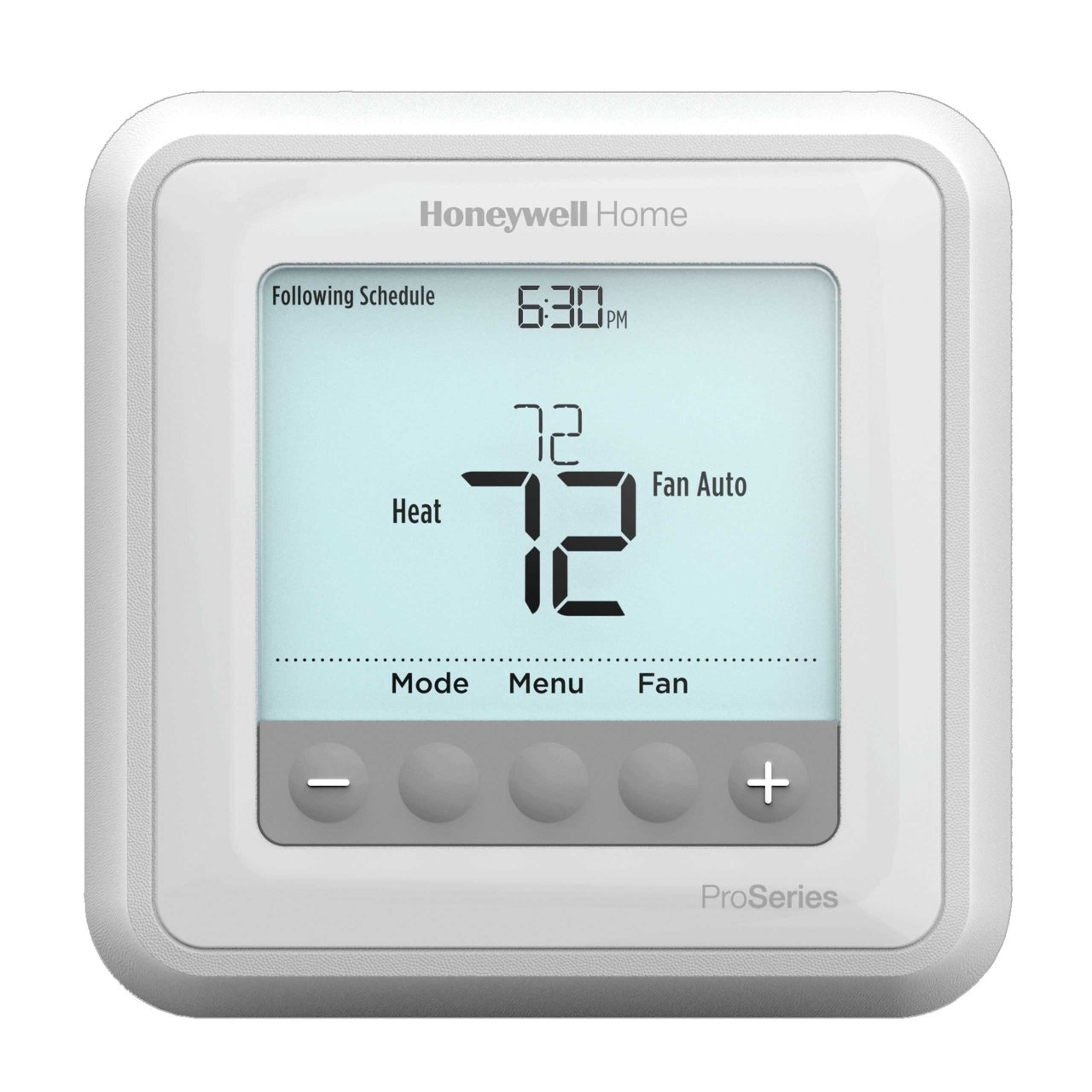 T6 Pro Programmable Thermostat Up To 2 Heat 1 Cool Honeywell Home