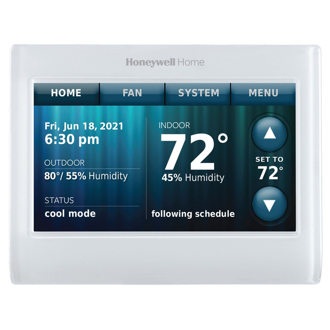 Wifi 9000 Color Touchscreen Thermostat Honeywell Home